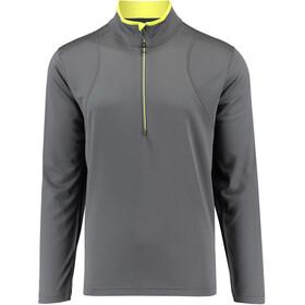 Kaikkialla M's Elijas Zipp Shirt 1/1 Anthracite